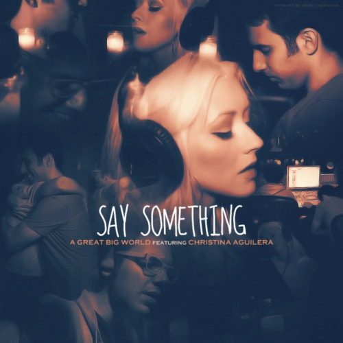 among all the remixes of say something by a great